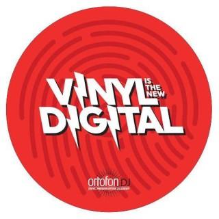 Ortofon Slipmat Digital Coppia Panni antistatici professionali da 12' per DJ