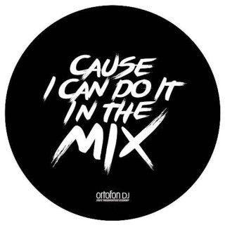 Ortofon Slipmat Mix Coppia Panni antistatici professionali da 12' per DJ