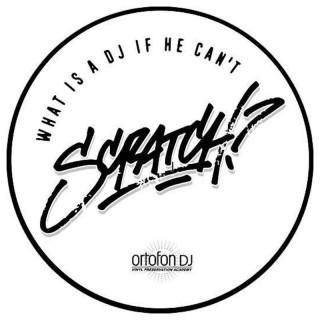 Ortofon Slipmat Scratch Coppia Panni antistatici professionali da 12' per DJ