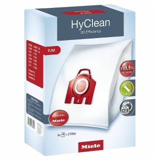 Miele FJM HyClean 3D Rosso 4 Sacchetti Aspirapolvere Filtro Motore Filtro Aria