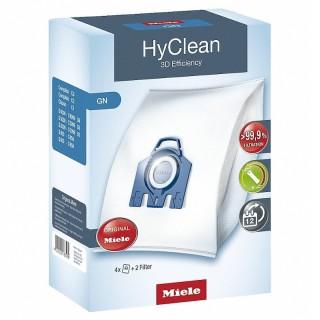 Miele GN HyClean 3D Blu 4 Sacchetti Aspirapolvere Filtro Motore Filtro Aria