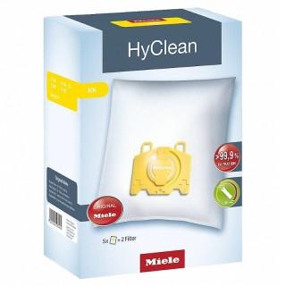Miele KK HyClean Giallo 5 Sacchetti Aspirapolvere Filtro Motore Filtro Aria