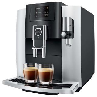 Jura E8 Touch Platino Macchina Caffè Automatica 12 Funz Microschiuma G2 TouchScreen 2,8'