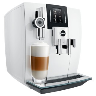Jura J6 Piano White Macchina Caffè Automatica 13 Funz Microschiuma Pro Display Rotary Switch