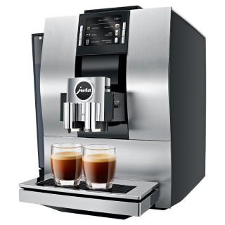Jura Z6 Alluminio Macchina Caffè Automatica 13 Funz Microschiuma Pro Display Rotary Switch
