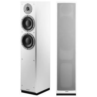 Dynaudio Emit M30 White Coppia Casse Pavimento 200W 2vie T2,8 2xW17 86dB Bass Reflex