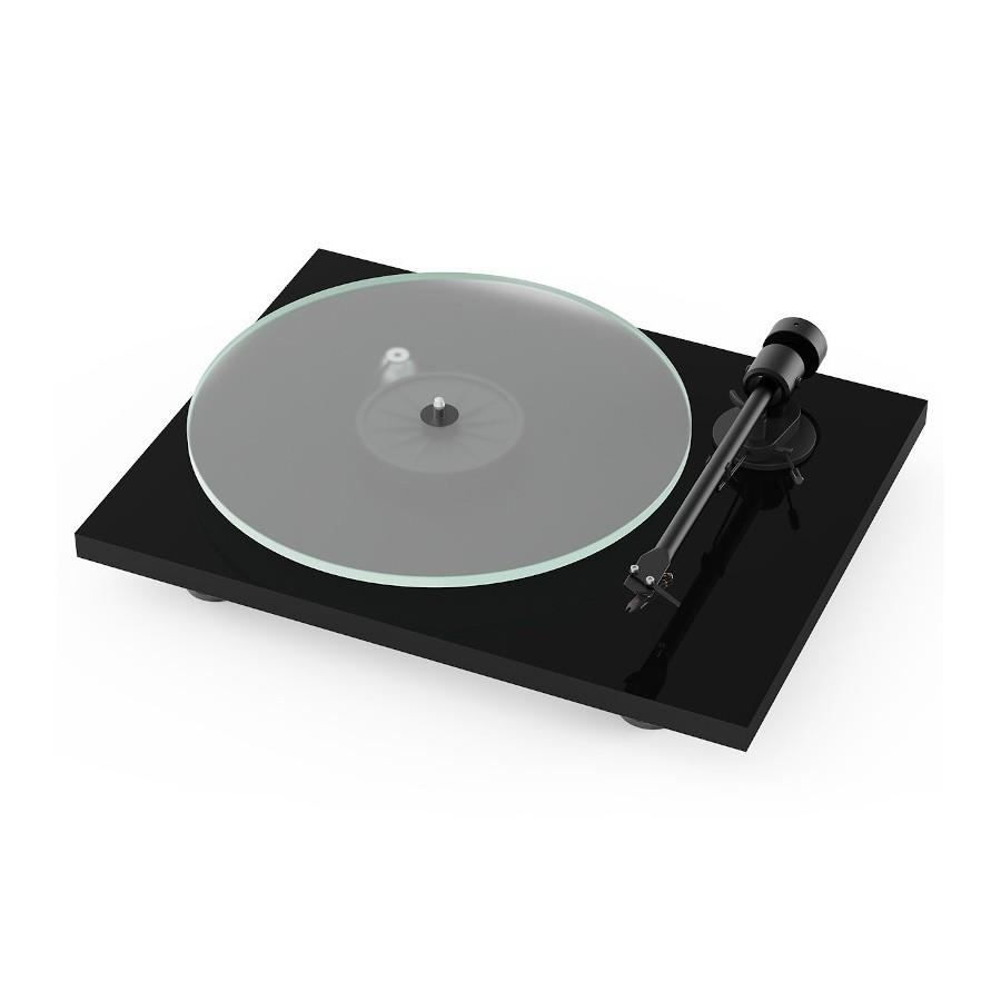 Pro-Ject T1 BT Piano Black Giradischi 33/45 giri Testina Ortofon OM5E Bluetooth LineOut