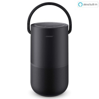 Bose Portable Home Speaker Triple Black Cassa Ricaricabile Wi-Fi Bluetooth AirPlay2 Alexa Google