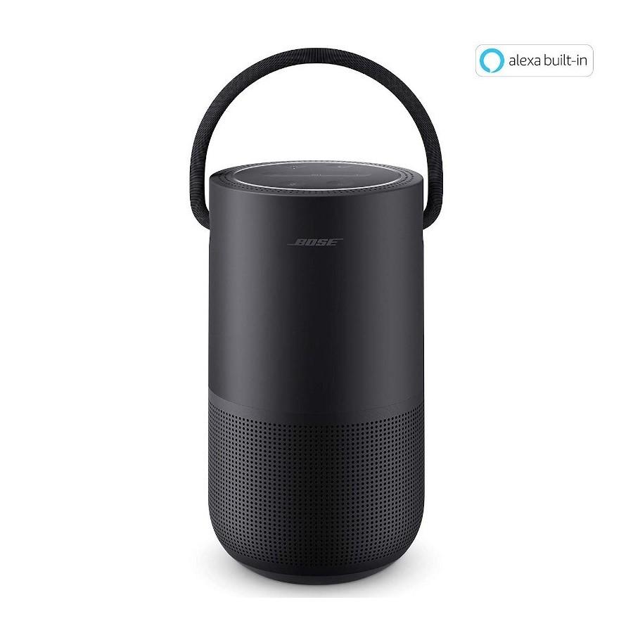 Bose Portable Home Speaker Triple Black Cassa Ricaricabile Wi-Fi Bluetooth AirPlay2 Alexa Google