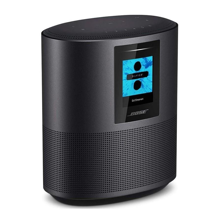 Bose Home Speaker 500 Triple Black Cassa Wireless Wi-Fi Bluetooth AirPlay2 Alexa Google