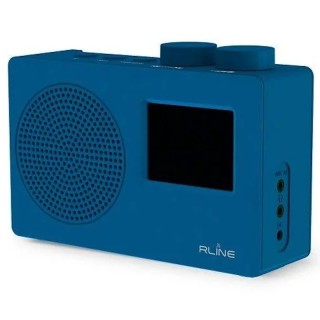 RLine SounDAB One Blu Radio DAB FM Line IN Sveglia Display 2,4'
