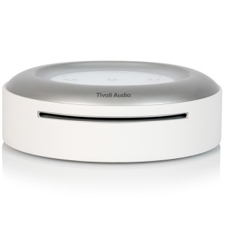 TivoliAudio Model CD White Wi-Fi App Tivoli Art Musica in Streaming LineOut