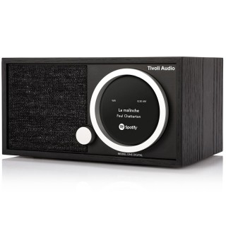 TivoliAudio Model One Digital+ Black Radio DAB/DAB+ FM Bluetooth Wi-Fi App Tivoli Art