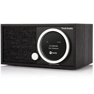 TivoliAudio Model One Digital+ Black Radio DAB/DAB+ FM Bluetooth Wi-Fi App Tivoli Art