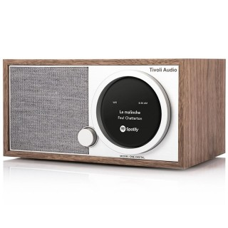 TivoliAudio Model One Digital+ Walnut Radio DAB/DAB+ FM Bluetooth Wi-Fi App Tivoli Art