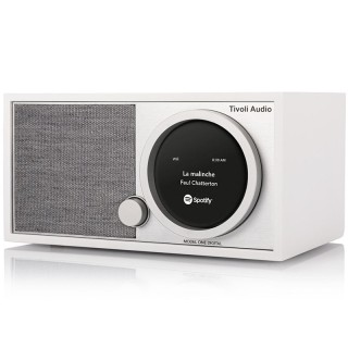 TivoliAudio Model One Digital+ White Radio DAB/DAB+ FM Bluetooth Wi-Fi App Tivoli Art
