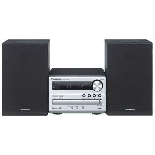 Panasonic SC-PM250BEGS Silver Hi-Fi Micro DAB FM CD USB Bluetooth 20Watt