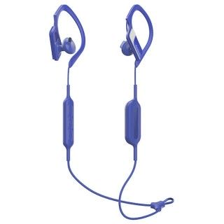 Panasonic RP-BTS10E-A Blu Auricolari Bluetooth Clip Sport Archetto Regolabile IPX2 Autonomia 4h20m