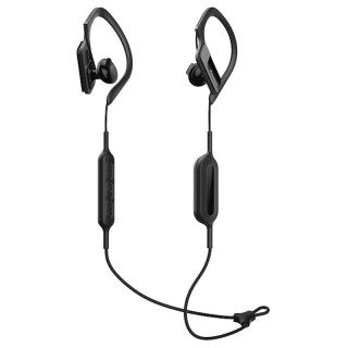 Panasonic RP-BTS10E-K Black Auricolari Bluetooth Clip Sport Archetto Regolabile IPX2 Autonomia 4h20m