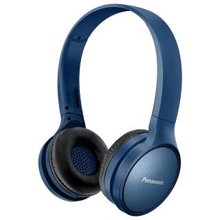 Panasonic RP-HF410BE-A Blu Navy Cuffia Padiglione Bluetooth Autonomia 24h Comandi Vocali Telefono
