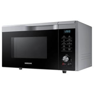Samsung MC28M6075CS/ET Silver Microonde Hot Blast Ventilato Grill 28L Crusty Slim Fry