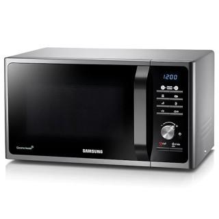 Samsung MG23F301TCS/ET Silver Microonde Grill 23L Crusty 20 Programmi Automatici