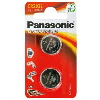 Panasonic CR2032L/2BP 3V Batteria Bottone Litio Blister 2pile