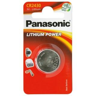 Panasonic CR2430EL/1BP 3V Batteria Bottone Litio Blister 1pila