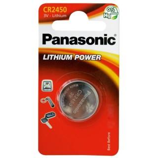 Panasonic CR2450EL/1BP 3V Batteria Bottone Litio Blister 1pila
