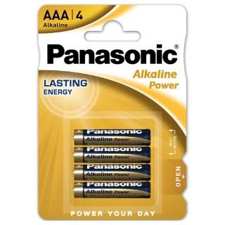 Panasonic LR03APB/4BP AAA 1,5V Batteria MiniStilo Alcalina Power Blister 4pile