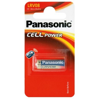 Panasonic LRV08L/1BE 12V Batteria Micro Alcalina Blister 1pila