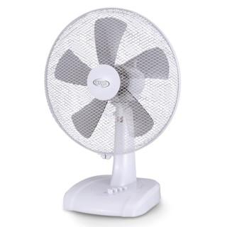 Argo Ginger White Ventilatore Tavolo 5 Pale Diametro 40cm Timer 120 minuti