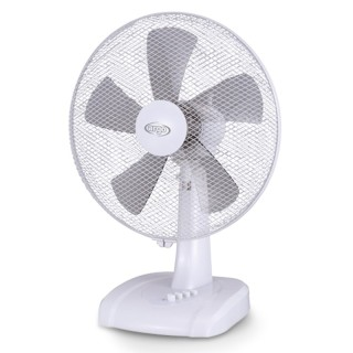 Argo Ginger White Ventilatore Tavolo 5 Pale Diametro 40cm