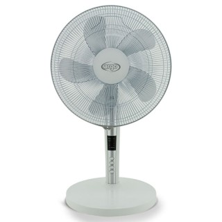 Argo Tablo White Ventilatore da Tavolo 5 Pale Diametro 40cm Telecomando