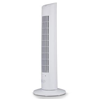 Argo Ivy Tower White Ventilatore a Torre Rotazione 80° Timer Telecomando