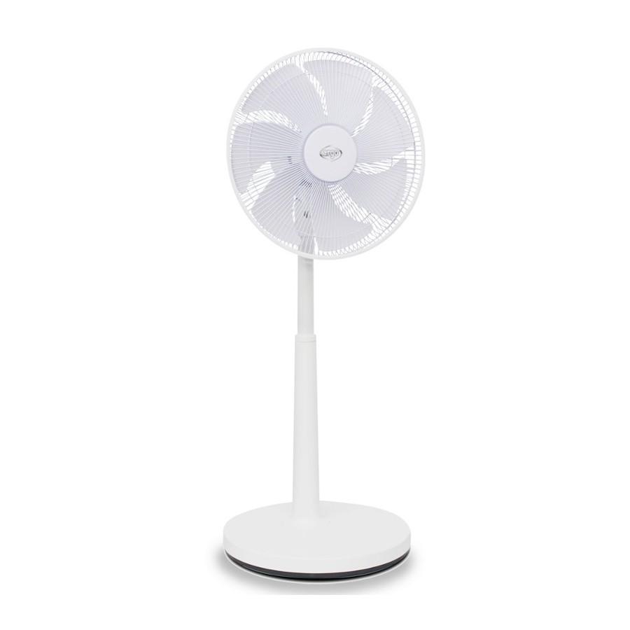 Argo Ipno White Ventilatore Tavolo e Piantana 7 Pale Diametro 36cm Telecomando