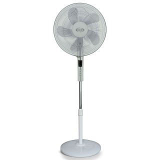 Argo Standy White Ventilatore Piantana 5 Pale Diametro 40cm Telecomando