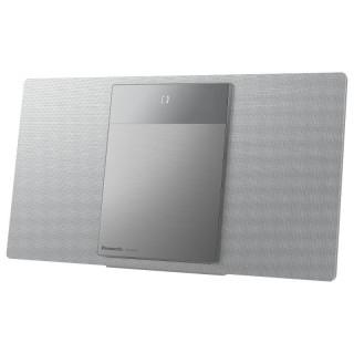 Panasonic SC-HC412EG-S Silver Hi-Fi Verticale DAB FM CD USB Bluetooth AuxIN 40W SpaceTune