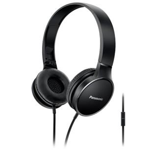 Panasonic RP-HF300ME-K Black Cuffia Padiglione Phieghevole Microfono Controllo Smartphone
