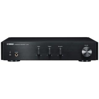 Yamaha A-670 Black Amplificatore Integrato Compatto 65W x2 RMS Line IN
