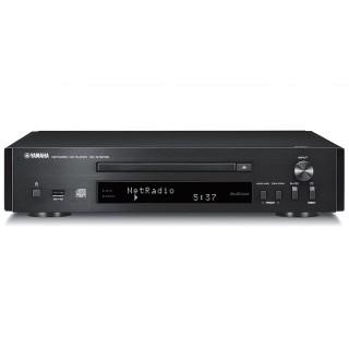 Yamaha CD-NT670D Black Lettore CD MP3 USB Radio DAB+ WiFi MusicCast Bluetooth AirPlay