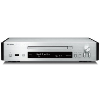 Yamaha CD-NT670D Silver Lettore CD MP3 USB Radio DAB+ WiFi MusicCast Bluetooth AirPlay