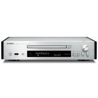 Yamaha CD-NT670D Silver Lettore CD MP3 USB Radio DAB+ WiFi MusicCast Bluetooth AirPlay