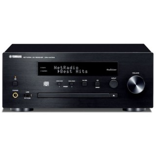 Yamaha CRX-N470D Black Micro Elettronica HiFi DAB+ CD USB AirPlay Bluetooth Wi-fi MusicCast 22Wx2