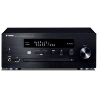 Yamaha CRX-N470D Black Micro Elettronica HiFi DAB+ CD USB AirPlay Bluetooth Wi-fi MusicCast 22Wx2