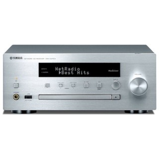 Yamaha CRX-N470D Silver Micro Elettronica HiFi DAB+ CD USB AirPlay Bluetooth Wi-fi MusicCast 22Wx2