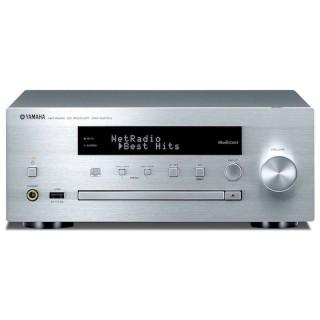 Yamaha CRX-N470D Silver Micro Elettronica HiFi DAB+ CD USB AirPlay Bluetooth Wi-fi MusicCast 22Wx2