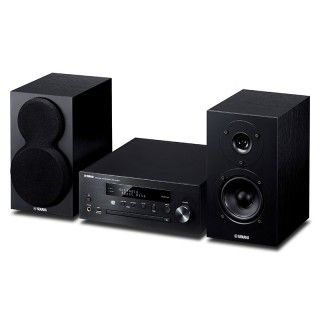 Yamaha MusicCast MCR-N470D Black Sistema HiFi DAB CD USB Aux Bluetooth AirPlay 22Wx2