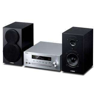 Yamaha MusicCast MCR-N470D Silver Sistema HiFi DAB CD USB Aux Bluetooth AirPlay 22Wx2