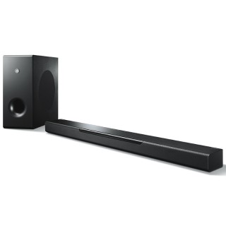 Yamaha MusicCast BAR 400 ATS-4080 Black Soundbar MusicCast Wi-Fi Subwoofer Wireless